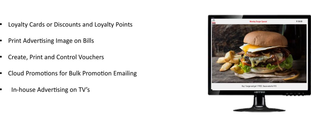 Loyalty cards, print promotions, cloud promotions